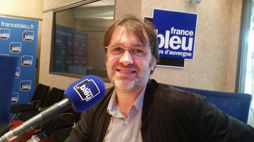 Gilles Loubier, directeur général de l'Anef qui gère l'hébergement d'urgence dans le Puy-de-Dôme