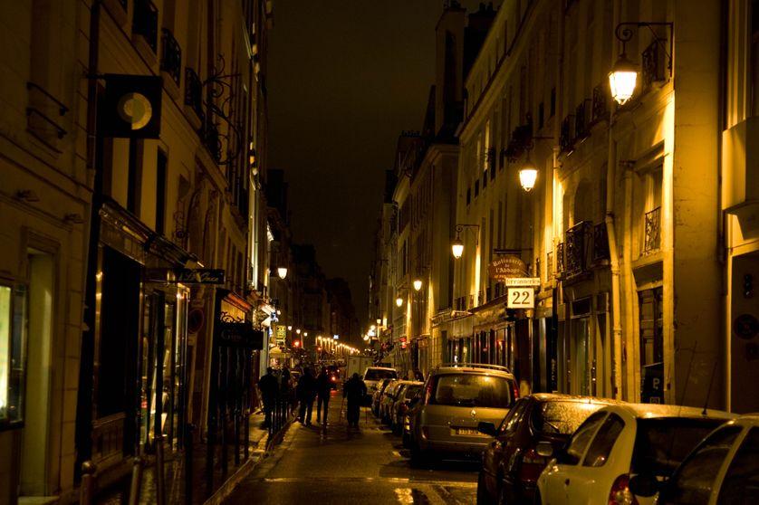 la rue Jacob à Paris