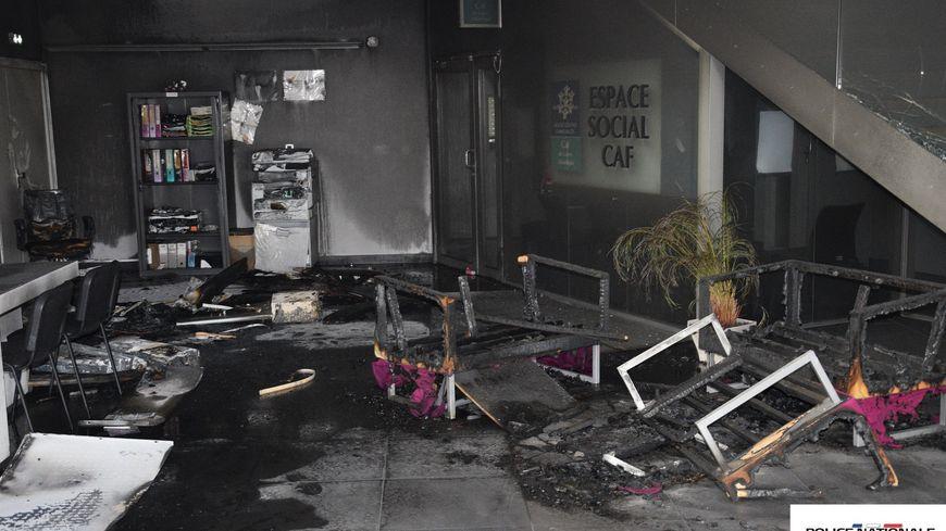 Les émeutes ont eu lieu dans la nuit du 3 au 4 juillet place des Dervallières.
