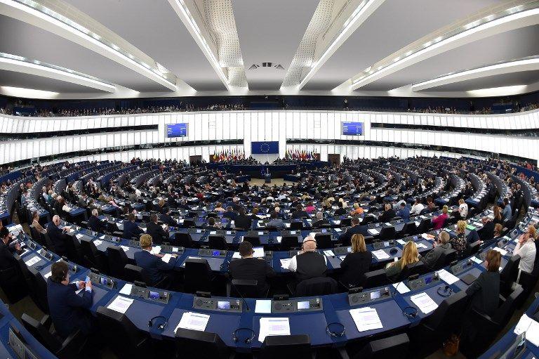 Le Parlement européen, 12 septembre 2018.