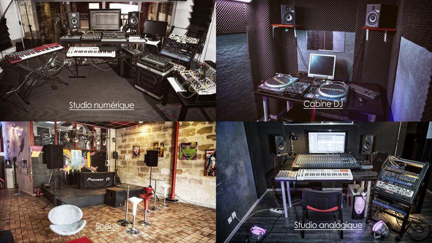 Les studios de la DJ Art School