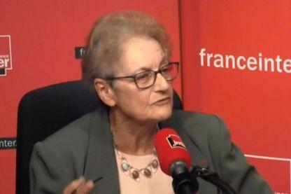 Evelyne Nakache professeure émérite vice-présidente de l'association femmes et sciences