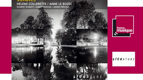 Sortie CD : Hélène Collerette & Anne Le Bozec - Sonates
