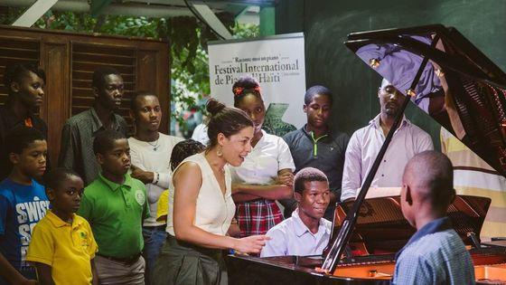 La première édition du Festival International de piano d'Haïti