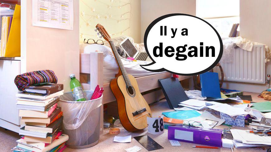 """Le mot """"degain"""" dans le Dico des ados"""