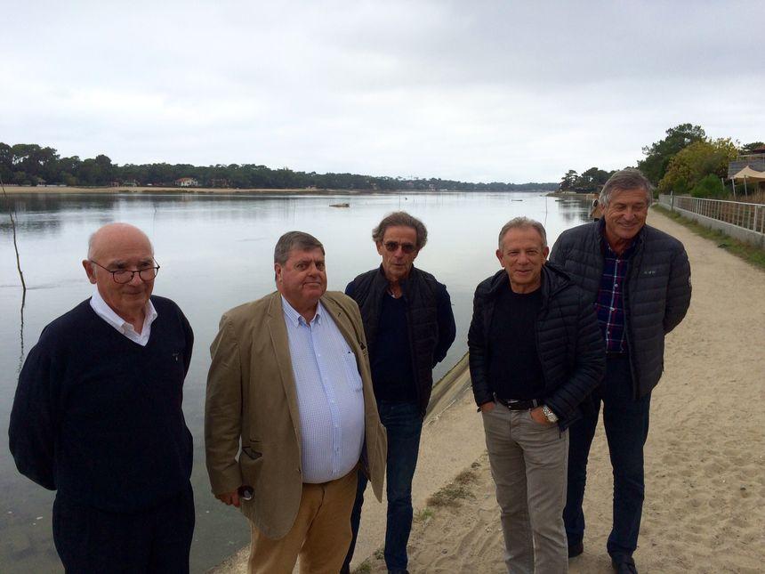Les membres de la SPSH, l'association des propriétaires d'Hossegor.