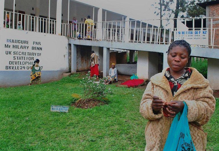 L'hôpital Panzi à Bukavu, novembre 2009.