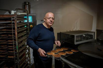 Thierry Marx, chef français double étoilé, dans son nouveau restaurant : Marxito, un fast-food bio et premium à Paris (octobre 2018)