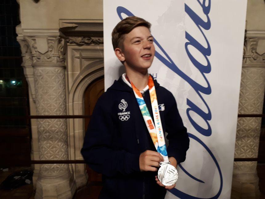Martin Lejeune, 16 ans, premier médaillé français en Breakdance