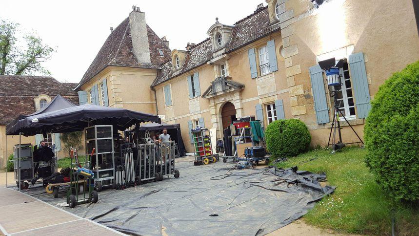 """Le château de Garraube où s'est déroulé le tournage de la série """"Victor Hugo, ennemi d'Etat"""""""