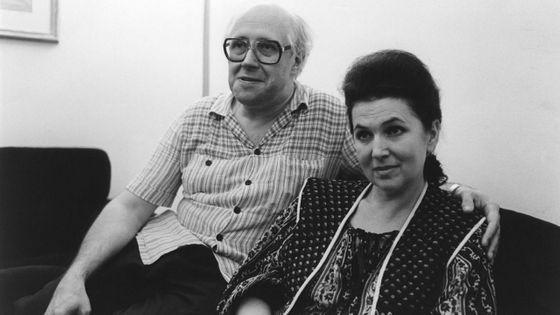 Mstislav Rostropovich et Galina Vishnevskaya