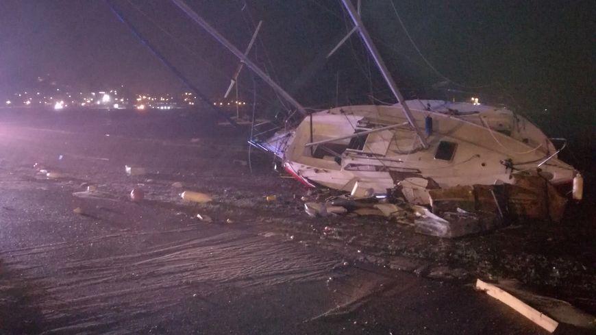 La tempête Adrian a occasionné de lourds dégâts en Corse