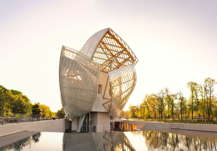 La fondation Louis Vuitton, de l'architecte Frank Gehry