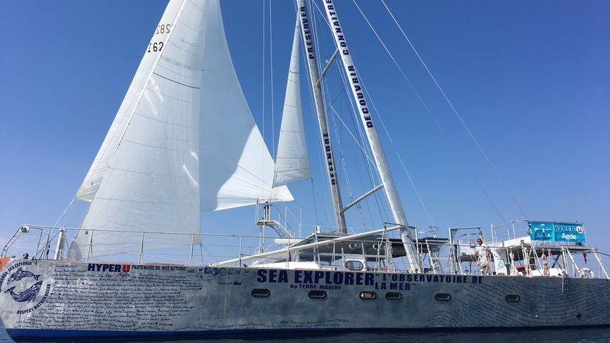 Sea Explorer, catamaran de découverte, de formation et d'étude au 19ème Salon Nautique d'Automne du Cap d'Agde