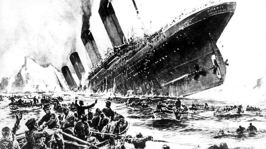 Lettre D Un Passager Du Titanic Mise En Vente à Nancy Aucun