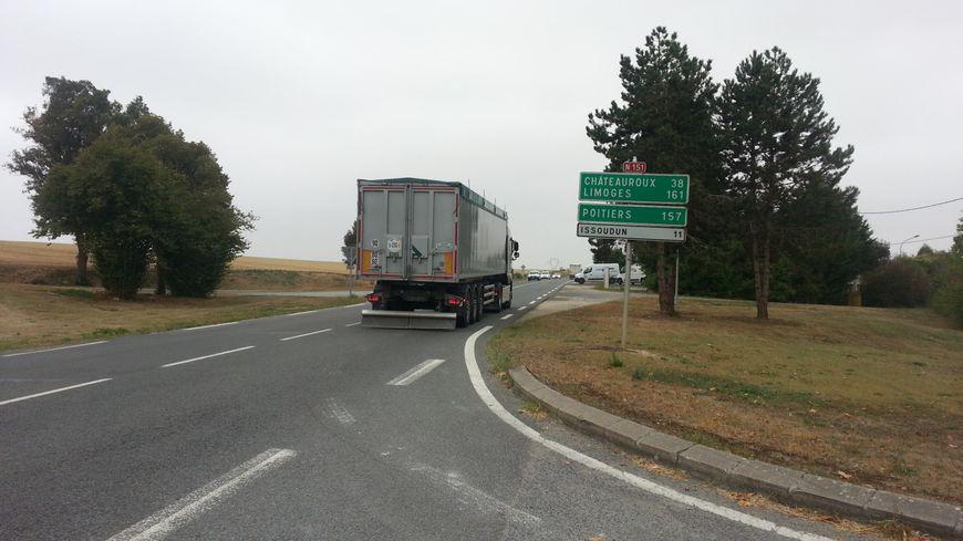 Le prochain tronçon mis à deux fois deux voies pourrait être entre Chârost et Issoudun