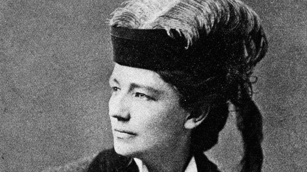 Victoria Woodhull, femme politique féministe américaine.