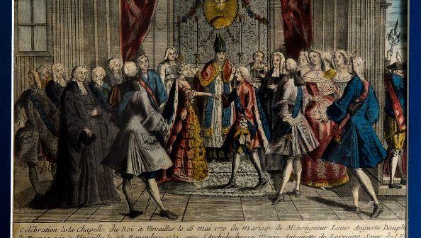 Le mariage de Marie-Antoinette