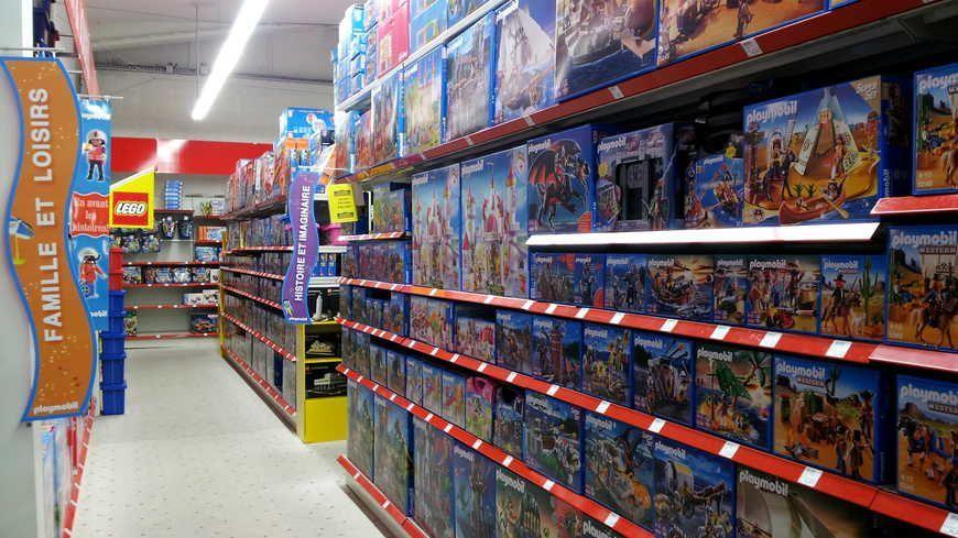 Illustration magasin de jouets