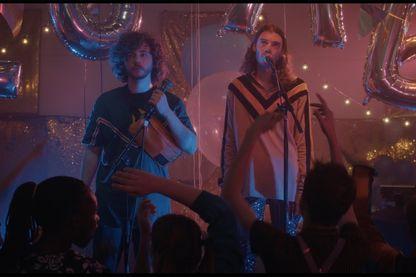 """Scène du clip """"Cache-Cache"""" du groupe de rap rennais Columbine"""