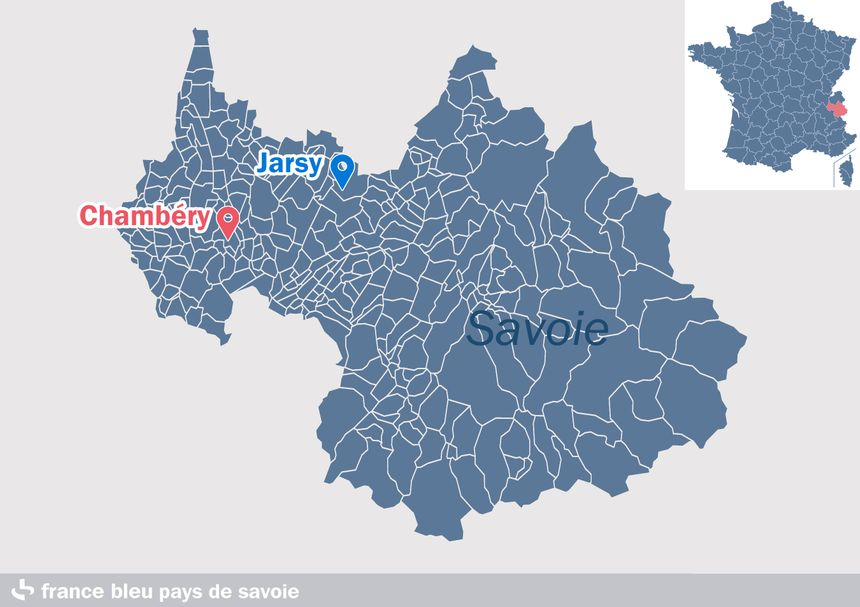 Jarsy, en Savoie