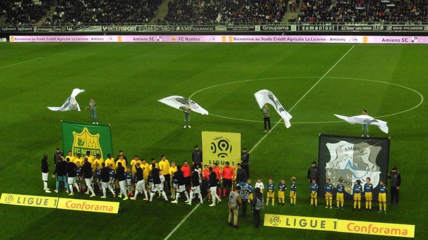 Au Stade de la Licorne, le FC Nantes s'est imposé 2-0 face à Amiens.