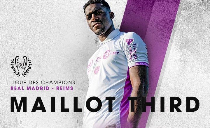 Le maillot third du Stade de Reims a été présenté vendredi, les Rémois joueront pour la première fois avec ce dimanche à Rennes.