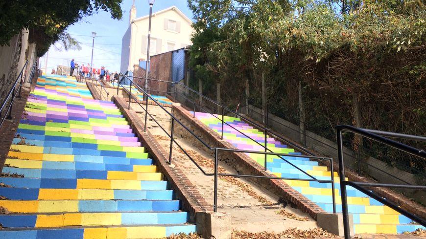 L'escalier de Montmorency compte 266 marches