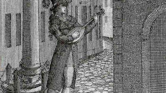 Gravure de Luigi Bassi en Don Giovanni (1787)