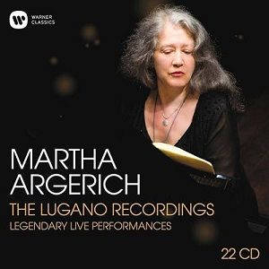 Martha Argerich : The Lugano Recordings, Coffret 22 CD, WARNER CLASSICS