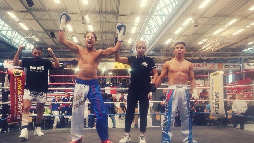 Le boxeur nordiste Rachid Boudchar champion du monde de Full Contact après sa victoire face au Mexicain Arturo Castro, ce dimanche, en Allemagne
