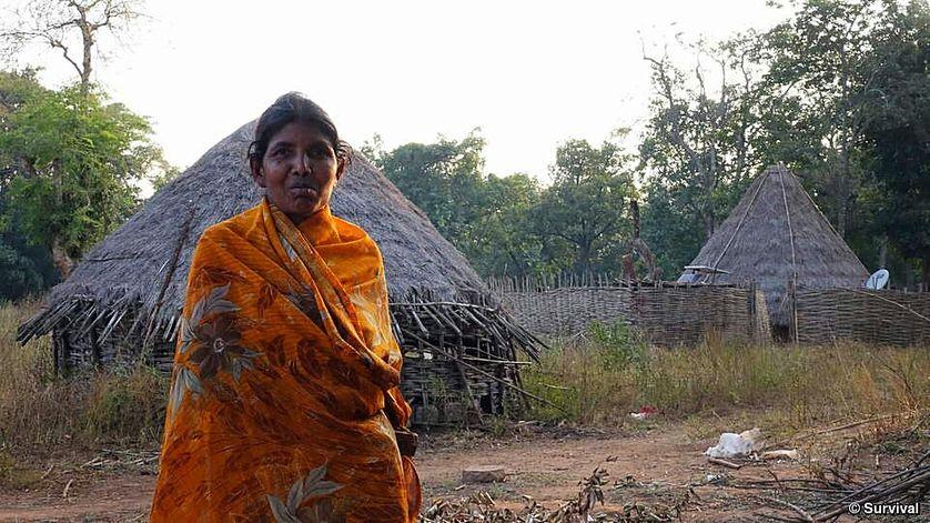 Femme Chenchu du village de Pecheru. Village expulsé dans les années 1980. Seules 160 des 750 familles y auraient survécu après, selon les Chenchu