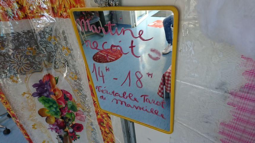 Les horaires d'ouverture du cabinet de Martine Tarot.
