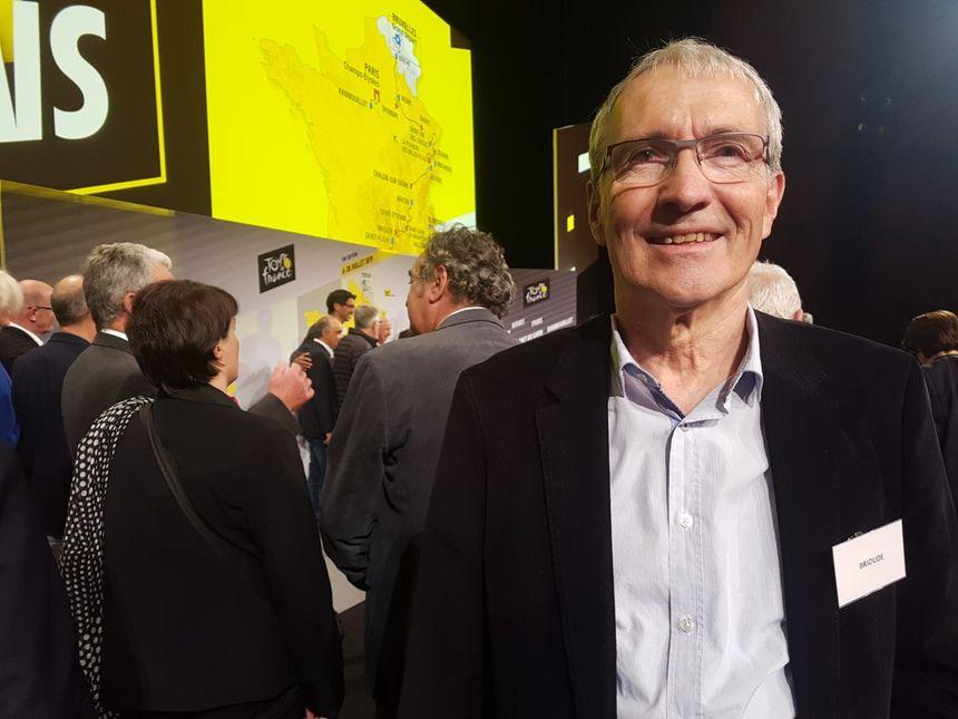 Le maire de Brioude, Jean-Jacques Faucher, se réjouit d'accueillir Romain Bardet et le peloton du Tour de France dans sa commune