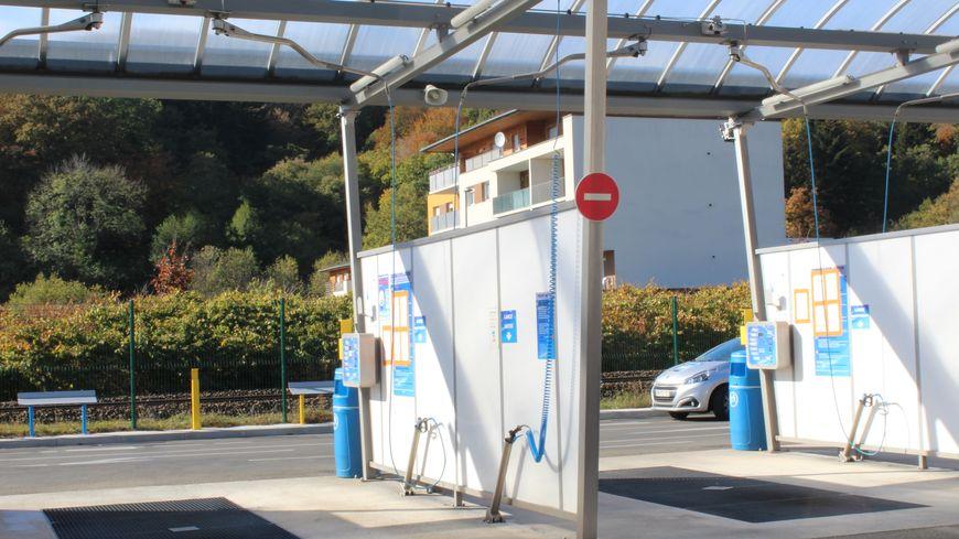 Les pistes des stations de lavage sont désertes depuis début septembre à Valdoie