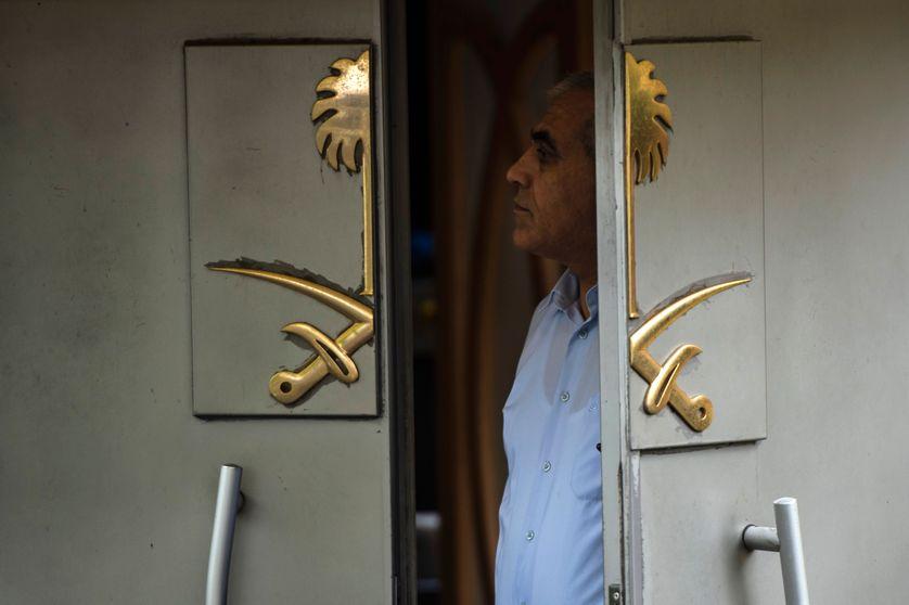 Un employé du consulat  d'Arabie Saoudite à Istanbul (13 Octobre)
