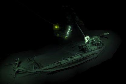 Un navire marchand Grec vieux de plus de 2 500 ans trouvé au fond de la mer Noire