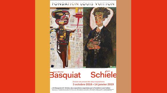 Exposition Jean-Michel Basquiat/Egon Schiele