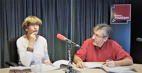 France Musique, studio 131... La compositrice Elżbieta Sikora & Arnaud Merlin