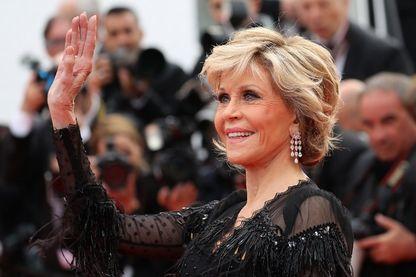 Jane Fonda en mai 2018 lors du Festival de Cannes