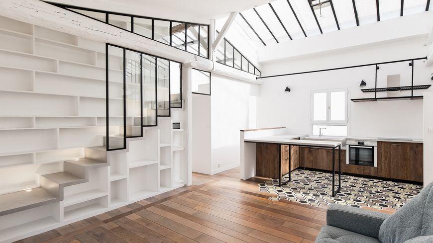 Exemple d'appartement lumineux