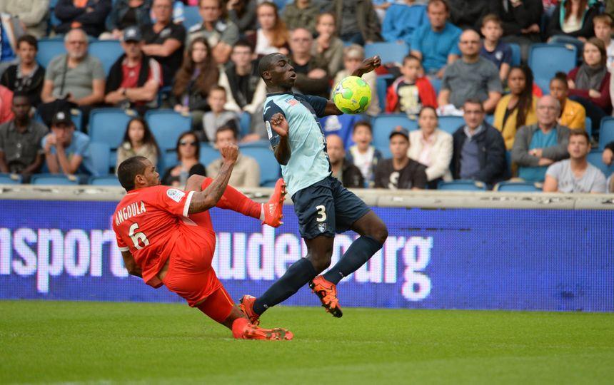 Gaël Angoula a joué trois fois face au HAC, mais jamais avec le maillot havrais