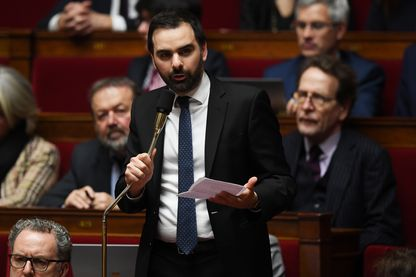 Laurent Saint-Martin, député LRM, à l'Assemblée Nationale