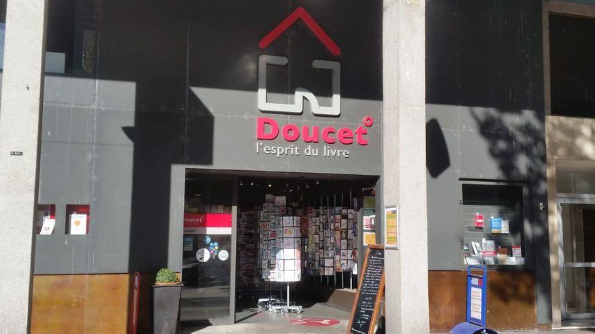 La première librairie Doucet, avenue général De Gaulle au Mans