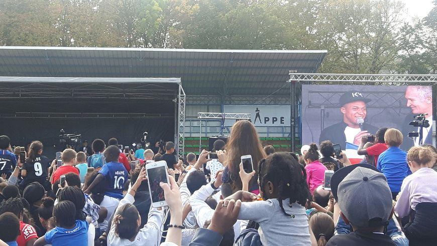 La ville de Bondy fête son champion du monde Kylian Mbappé