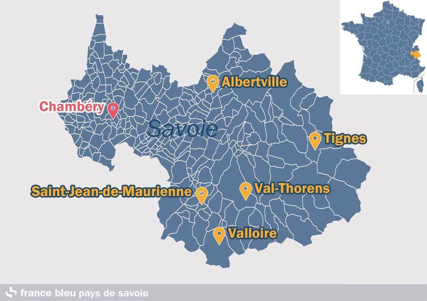 Les villes étapes du Tour de France 2019 en Savoie