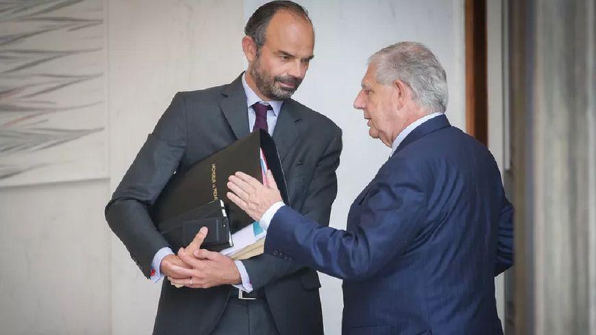 Edouard Philippe voyagera avec Jacques Mézard, le ministre cantalien annoncé partant