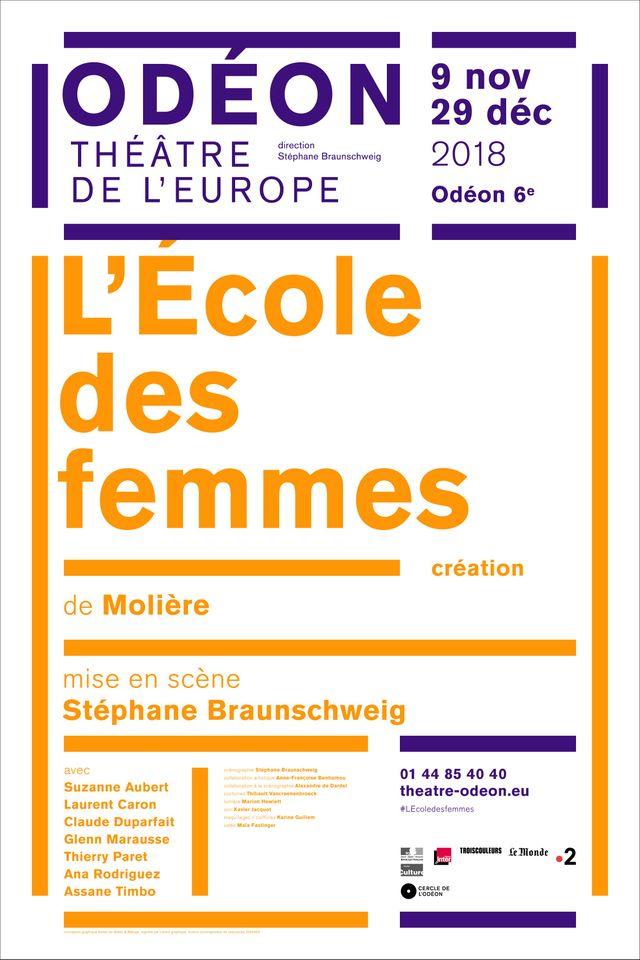 L'école des femmes  de Molière par Sthéphane Braunschweig
