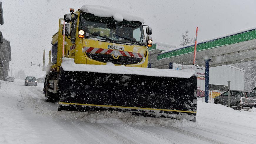 Les chasse-neiges du conseil départemental de la Corrèze sont prêts à intervenir (photo d'illustration)