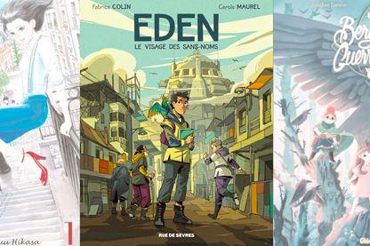 Couvertures  Marion - Eden - Bergères guerrières